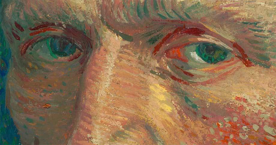 Van Gogh eyes