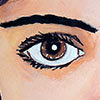 Paint the jewels of your eyes