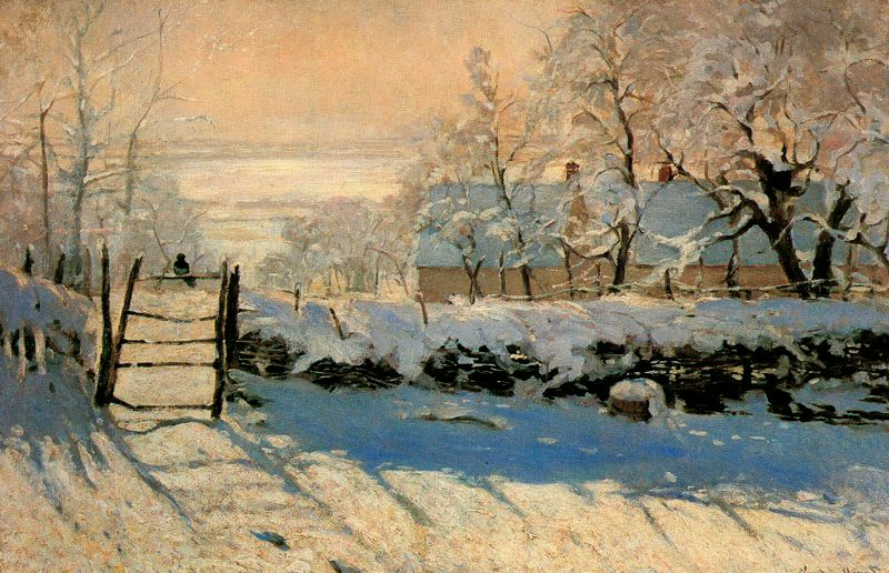 Claude Monet, the Magpie