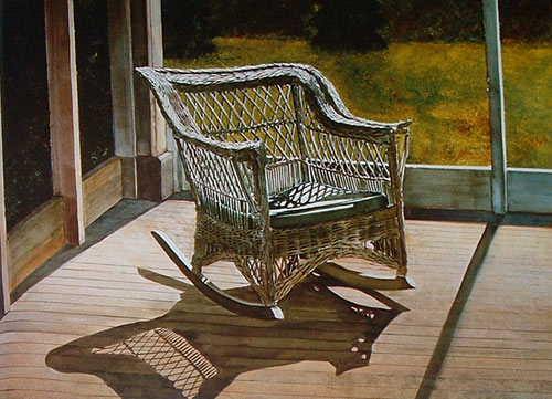 Shadows painting by George Shook